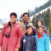 Mr. Sudhakar Reddy & Family,Bangalore - Memorable India