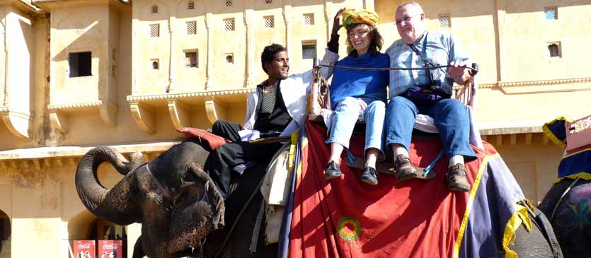 Amber fort - jaipur Elephant Ride