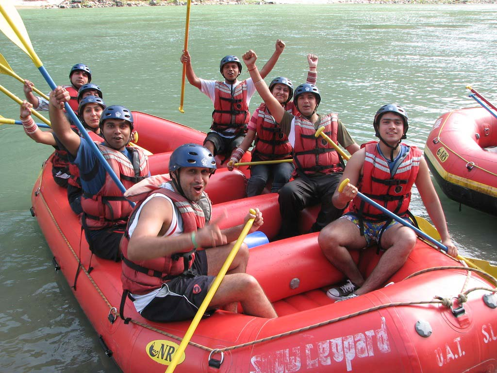 River Rafting at Rishikesh Uttarakhand India